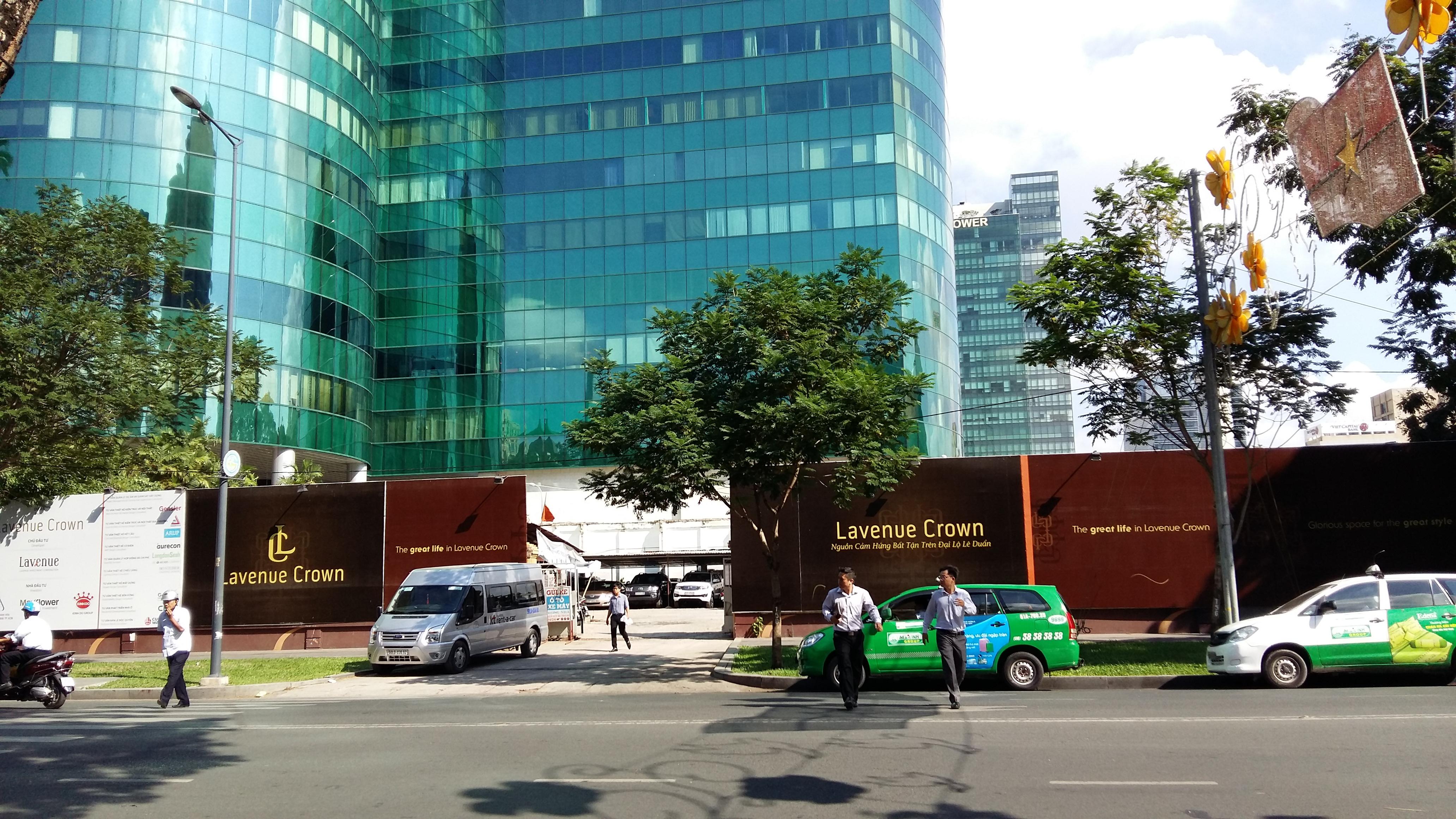 Khu đất vàng của tập đoàn Kinh Đô cũng chuẩn bị rục rịch triển khai dự án cao ốc
