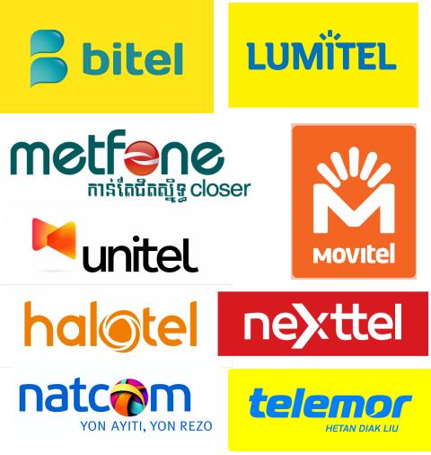 Viettel sử dụng thương hiệu riêng biệt tại mỗi nước khác nhau