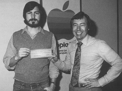 Moneyman - Mike Markkula (bên phải)