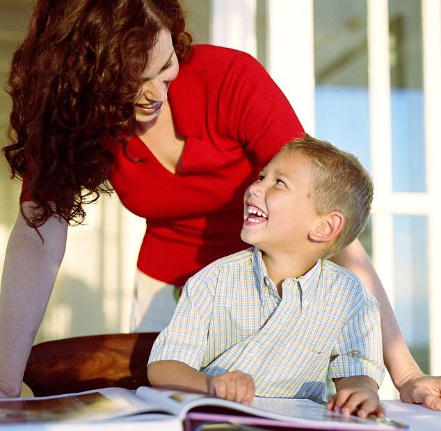 Trẻ em được nghe đọc sách của mẹ hoặc được giúp đỡ với bài tập về nhà của họ ở độ tuổi từ 3 đến 7 thường có nhiều khả năng nhận thức tiên tiến.