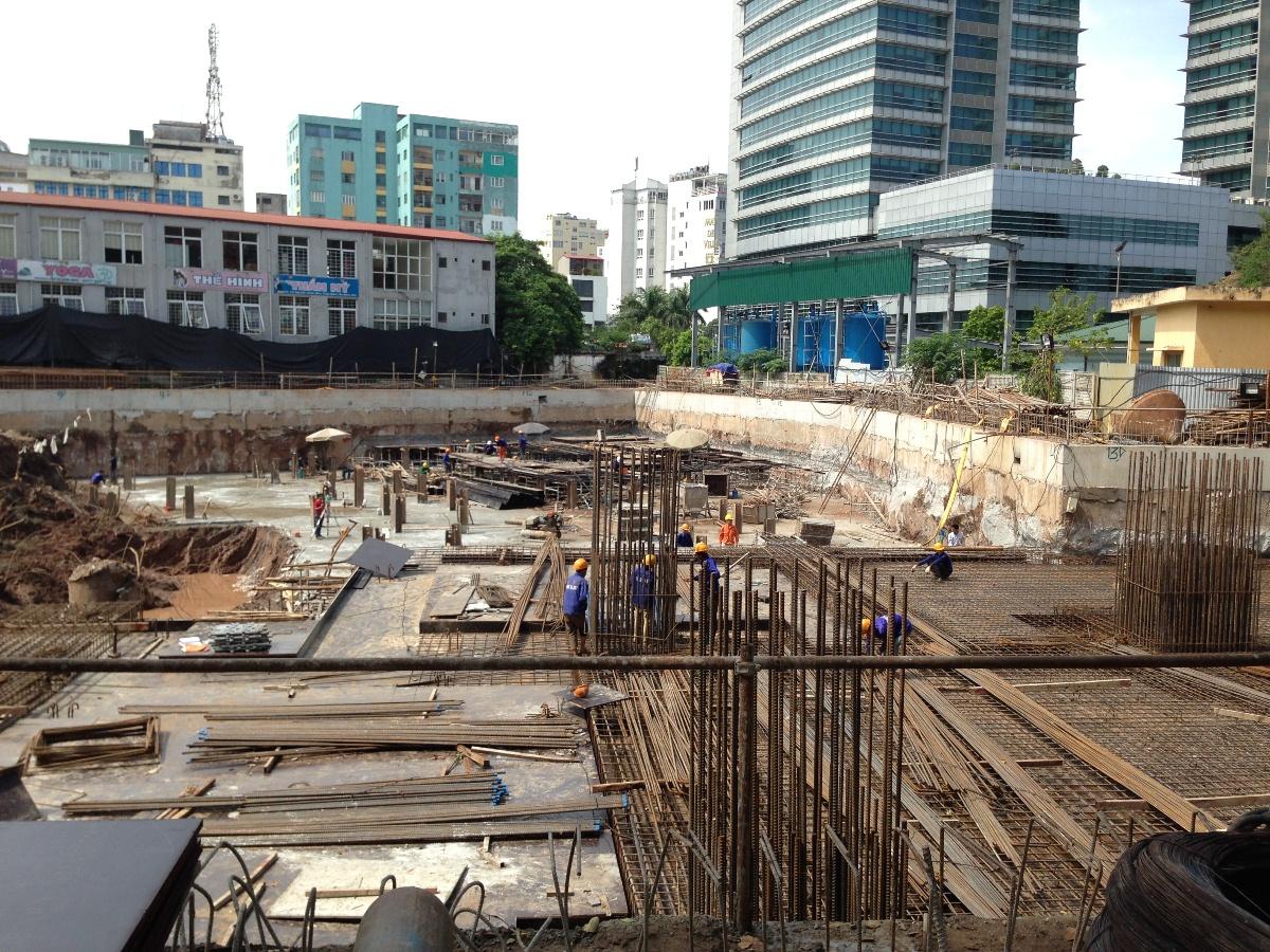 Tổ hợp chung cư Hanoi Aqua Central vừa ra mắt thị trường quý 2 vừa qua.
