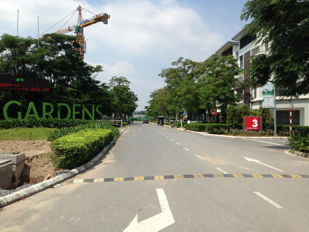 Dự án nằm ngay trong khu đô thị Gamuda.