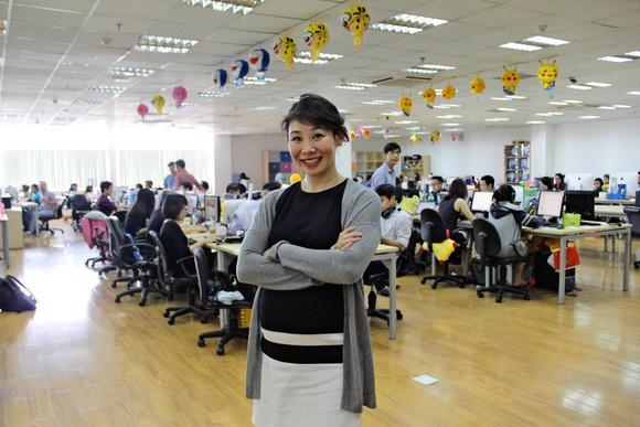 Esther Nguyen, nhà sáng lập và CEO của Pops Worldwide.