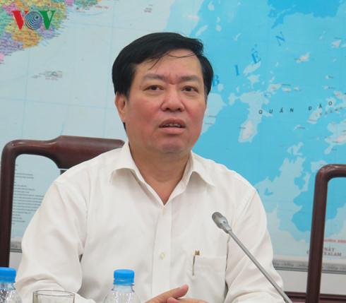 Ông Phạm Minh Huân-Thứ trưởng Bộ Lao động Thương binh và Xã hội.