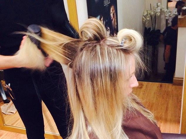Một salon tóc tại Anh.
