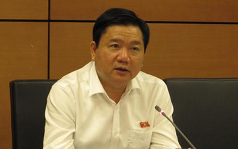 Bí thư Thành uỷ TP HCM Đinh La Thăng