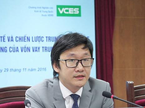 TS Phạm Sỹ Thành: Dự án vốn vay Trung Quốc thường hiệu quả kém và sử dụng vốn lãng phí. Ảnh: CHÂN LUẬN