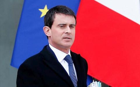 Thủ tướng Pháp Manuel Valls. Ảnh AFP