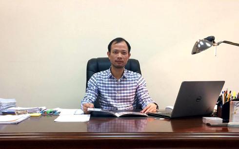 Ông Phan Thế Huấn, Giám đốc Công ty CP Xây lắp Điện lực 1.