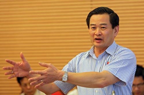 Đại biểu Quốc hội Nguyễn Đình Quyền, Viện trưởng Viện Nghiên cứu lập pháp Ảnh: MINH ĐỨC