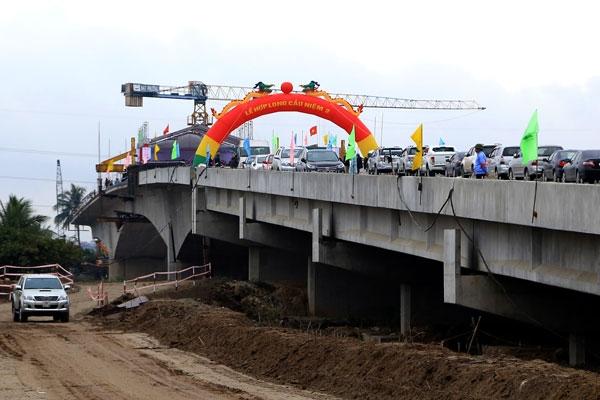 Cầu Niệm 2 - Cây cầu nằm trong chiến lược phát triển giao thông Hải Phòng.