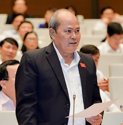 Đại biểu Ngô Văn Minh chất vấn trên diễn đàn Quốc hội vừa qua