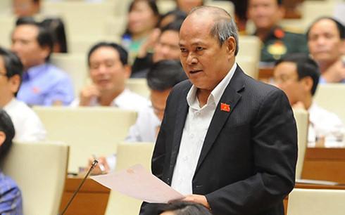 Đại biểu Quốc hội Ngô Văn Minh