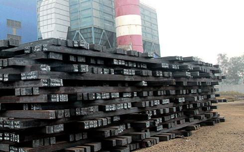 Ngành thép Việt Nam mới chỉ sản xuất được phôi thép xây dựng.(Ảnh minh họa: KT)