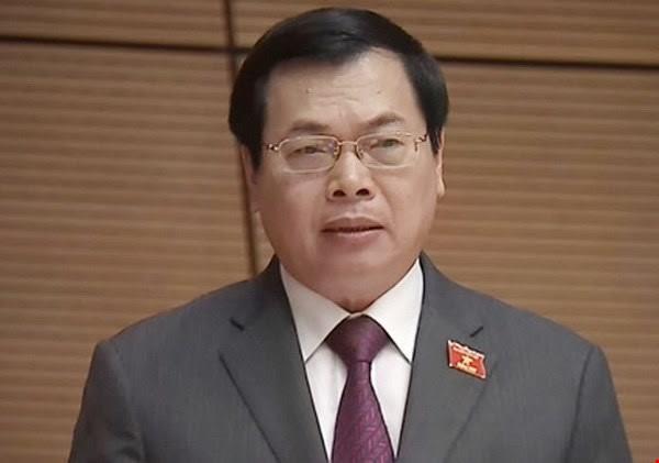 Ông Vũ Huy Hoàng.