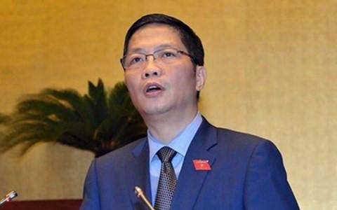 Bộ trưởng Bộ Công Thương - ông Trần Tuấn Anh.