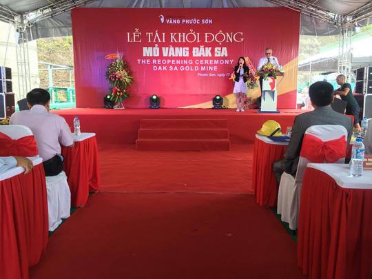 Vàng Phước Sơn tạm ngừng hoạt động sau 4 tháng tái khởi động mỏ vàng lớn nhất Việt Nam