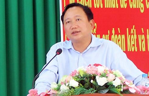 Trịnh Xuân Thanh đang bị truy nã quốc tế