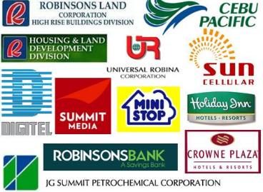 Những công ty thuộc sở hữu của gia đìnhGokongwei