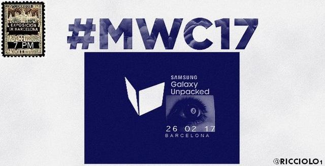 Hình ảnh về sự kiện Galaxy Unpacked 2017 được Samsung hé lộ