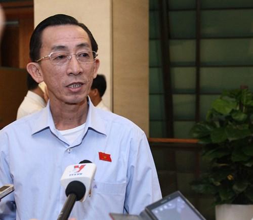 Đại biểu Quốc hội Trần Hoàng Ngân.