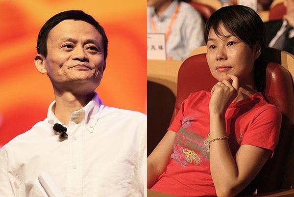 Bà Trương Anh luôn lặng lẽ ở phía sau hậu thuẫn tinh thần để chồng tập trung phát triển sự nghiệp.