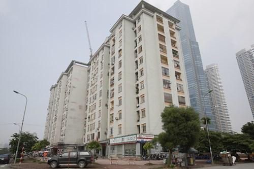 Khu đô thị Nam Trung Yên tập trung nhiều tòa chung cư tái định cư nhưng việc quản lý và vận hành đã xảy ra nhiều sai phạm. Ảnh: Hồng Vĩnh.
