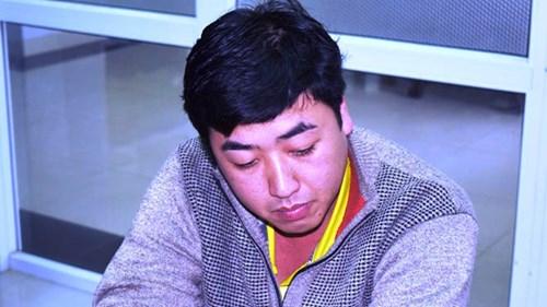 Nguyễn Hoàng Tâm tại cơ quan điều tra