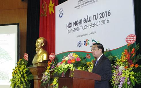 Bộ trưởng Chu Ngọc Anh phát biểu tại Hội nghị