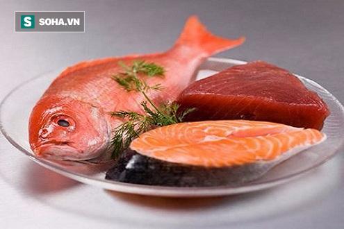 Cá là thực phẩm lành mạnh tốt cho sức khỏe và có công dụng kéo dài tuổi thọ. (Ảnh minh họa).