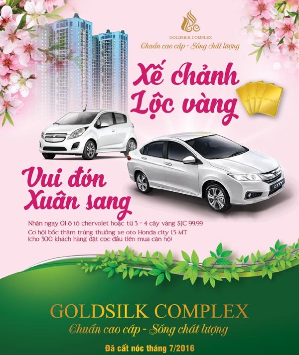 Chính sách bán hàng tốt của Goldsilk thu hút nhiều khách hàng và nhà đầu tư.