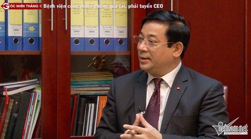 PGT.TS Lương Ngọc Khuê chia sẻ với Góc nhìn thẳng về quá tải bệnh viện