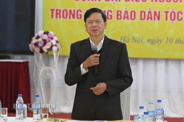 Thứ trưởng, Phó Chủ nhiệm Ủy ban Dân tộc Phan Văn Hùng