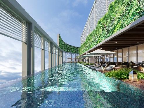 Một trong những tiện ích 5 sao hiện đại của dự án Luxury Apartment.