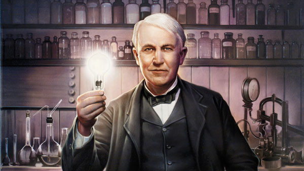Chính mẹ là người đã khuyến khích và nuôi dưỡng niềm đam mê đối với khoa học của Edison.