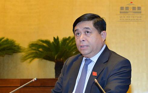Bộ trưởng Kế hoạch và Đầu tư Nguyễn Chí Dũng