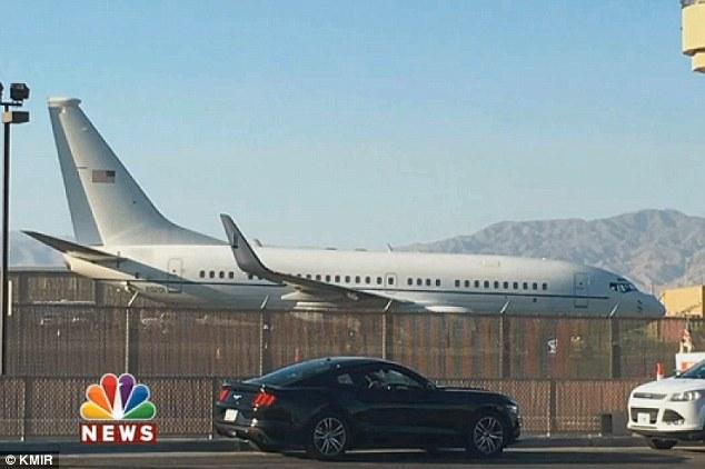 Hồi tháng 9, máy bay của bà Michele Obama được phát hiện đã đỗ tại sân bay quốc tế Palm Springs.