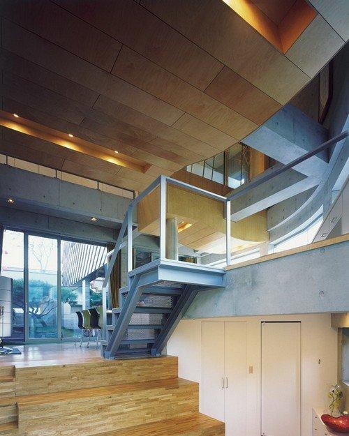 Chất liệu gỗ sáng màu đóng vai trò lớn trong việc đem lại sự thoáng đãng cho không gian.