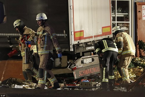 5 tháng trước, một vụ tấn công kinh hoàng cũng bằng xe tải ở Nice, Pháp trong ngày quốc khánh ở nước này cướp đi sinh mạng của 84 người.