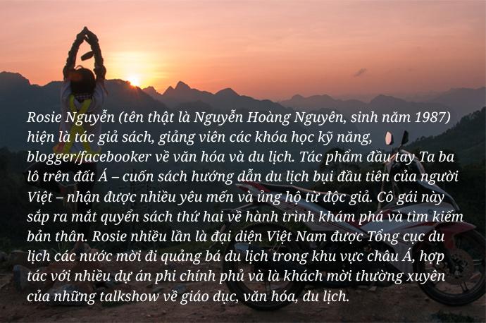 Cô gái Ta ba lô trên đất Á: Không thử những điều chưa bao giờ làm, tôi sẽ không trở thành người tôi mong muốn - Ảnh 2.