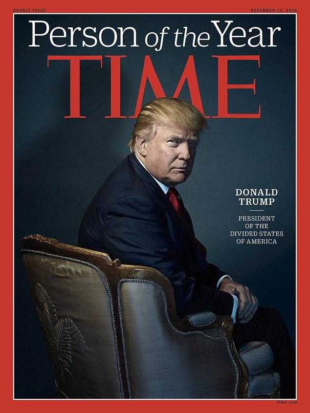 Trang bìa tạp chí TIME, ấn phẩm ra mắt ngày 19/12. Ảnh: TIME