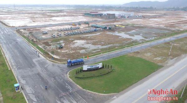 Dự án khu công nghiệp đô thị VSIP Nghệ An. Nguồn ảnh: Báo Nghệ An