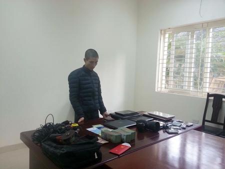 Mai Xuân Hải người gây ra hàng loạt vụ trộm cắp tại các khu đô thị quận Nam Từ Liêm.
