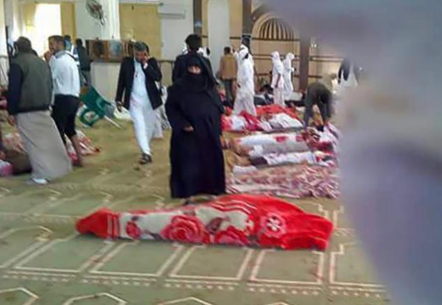 Ai Cập cũng ban bố 3 ngày quốc tang để tưởng nhớ các nạn nhân vụ tấn công đẫm máu.