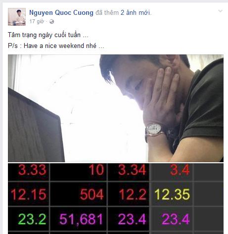 Cổ phiếu QCG lên đỉnh 6 năm, doanh nhân Nguyễn Quốc Cường đăng ảnh đầy tâm trạng trên Facebook (1)