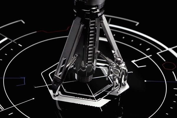 Thậm chí, hộp đựng bút cũng được thiết kế đặc biệt, mô phỏng một bệ phóng tên lửa. Khi mở ra, bút tên lửa có thể sẵn sàng cất cánh trong 3... 2 ... 1...