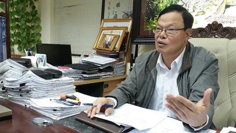 Cục trưởng Cục Chống tham nhũng, Thanh tra Chính phủ Phạm Trọng Đạt. Ảnh:Thu Hằng