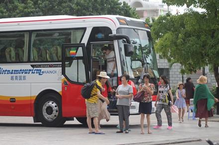 Năm 2016, lượng khách Trung Quốc đến Nha Trang, Khánh Hòa khá lớn.