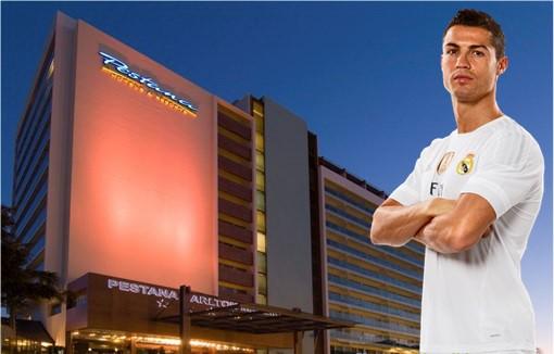 Ronaldo đang lấn dần sang lĩnh vực kinh doanh. Ảnh: Finance Twitter.