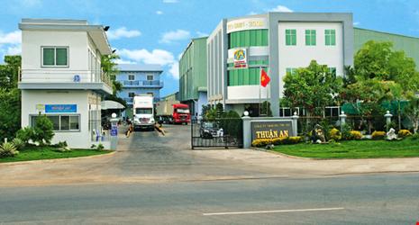 Công ty TNHH sản xuất thương mại dịch vụ Thuận An (ảnh website công ty)